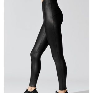 Carbon38 Shiny leggings sz XS
